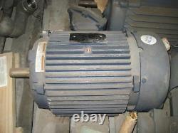 Leeson G158140 Moteur Électrique Industriel 215t Cadre 10 HP 1755 RPM