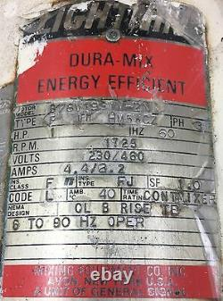 Lightnin Dura-mix Et Baldor Electric Motor Mixer 3 Phase Industrielle