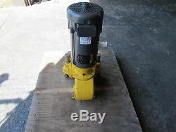 Milton Roy Inoxydable Volume Contrôlé Pompe Fr261b-144 W Baldor DC Motor Rebuilt