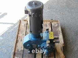 Milton Roy Pompe À Volume Contrôlé Inoxydable Avec Baldor DC Motor Reconstruit
