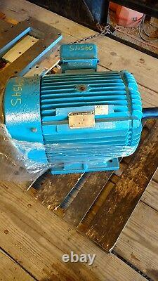 Mitsubishi Motor 40 HP 3 Phase Industrial Electric Motor 1780 RPM Reconstruit