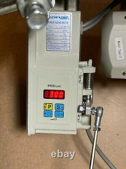 Modèle 810 Postbed Machine À Coudre Industrielle Avec 110v Servo Motor & Table