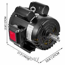 Moteur Électrique Industriel À Compresseur 5hp, 184t, 1725 Rpm, 208/230v, 1ph