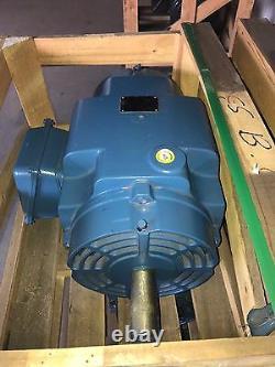 Moteur Électrique Industriel Weg 20 HP 15kw 380v 1465 RPM 3ph 256t 31.6a