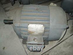 Moteur Encastré Industriel Électrique Américain 215 Cadre 5 HP 1800 RPM