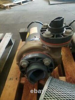 Moteur Industriel De Baldeur Jmm3611t 3hp 1725 RPM Avec Gould 4ss45 Pump