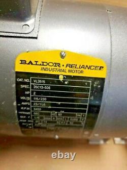 Mp 31348 Pompe Centrifuge Avec Baldor Electric Vl3515 2 HP Industrial Motor