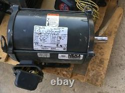 New Old Stock Electric Us Motors Industriel D3p2d 3hp Odp 1770 RPM 3 Phase Fh79