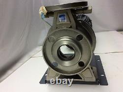 Nouveau! Ebara 73095 50 X 40 Acier Inoxydable Ss Centrifugal Pump 1.5kw 2hp 200v 220v