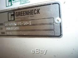 Nouveau Greenheck 07-bisw-21-x-10-i Industriel Centrifuge Électrique Hotte