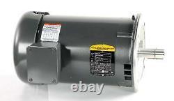 Nouveau Vm3218t Baldor Industrial Electric Motor 5hp 208-230/460 Volts 60hz 3ph