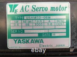 Nouveau Yaskawa Usamed 06m S2s Ac Servo Motor 918892-10 Moteurs Industriels Électriques