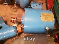 Paco Industrial Centrifugal Water Pump 190gpm Avecbaldor 10hp Trois Phase 3450rpm