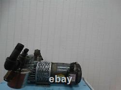 Pompe À Vide Gast 2567-v108 Avecbaldor Vm3554 Fr56c Motor 1-1/2hp 1725rpm
