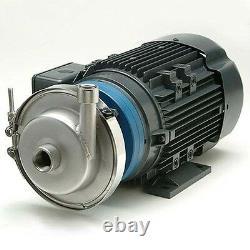 Pompe Centrifuge, 4 1/2 Impeller, 138 Gpm, 230/460v, 1 1/2 Décharge, 2 Entrée