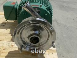 Pompe Centrifuge De Taille Industrielle Tri-clover Avec Moteur De Retenue 40hp