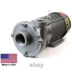 Pompe Centrifuge Droite Fonte 1,5 / 2 Ports 230/460 V 12 120 Gph
