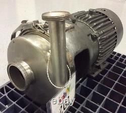 Pompe Centrifuge En Acier Inoxydable Apv Crepaco 8v 3 X 1-1/2 Siège Biseauté In/out