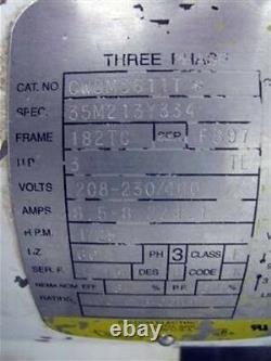 Pompe Centrifuge G&h Ghh-35 Baldor Motor Cwdm3611t 3hp 1725rpm 208-230/460v 3ph