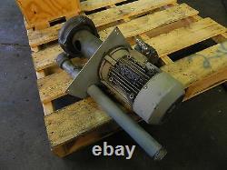 Pompe Centrifuge Knoll Tg40-07 / 15 285 Avec Moteur Ac De 2 HP Siemens, Utilisé, Garantie