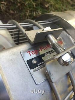 Pompe Centrifuge Top-flo C216-18tc Haut De Gamme Avec Reliance 5hp 3 Phase 3475rpm