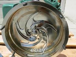 Pompe Centrifuge Tri-clover Clw3285megk4ep Avec Moteur De Reliance De 30 HP