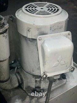 Pompe De Refroidissement 2 HP Mitsubishi Nq-1503a Avec Moteur Super Line, Af-serv 1,5kw 3ph 220v