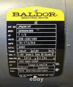 Pompe De Refroidissement Centrifuge Gusher Pcl1x1.5-6seh-cc-a 7,5 HP Avec Moteur Baldor