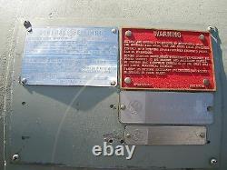 Pompe En Bronze Ingersoll-rand 8shw Avec Moteur 530 HP Inutilisé
