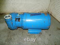 Pompe G&l Goulds 375993 Pompe Centrifuge Avec Moteur Baldor 5hp 3ph 3450rpm 575v