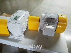 Pompe Tri-rotor Modèle 40ax 3 HP Moteur Et 13,71 Réducteur De Vitesse