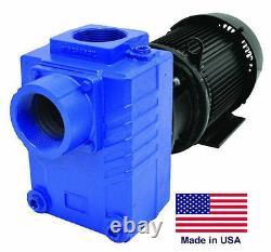 Pump Centrifugal Industrial Auto-prime 3 7,5 HP 230v 1 Ph 390 Gpm