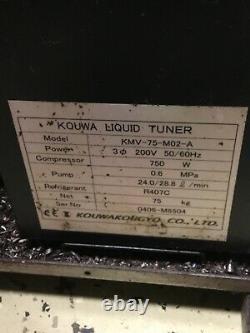 Refroidisseur À Huile, Tuner Liquide Kquwa Kmv-75-m02-a, Moteur De Pompe Felq-8t, Utilisé, Garantie