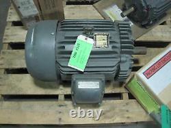 Rénovation Baldor M7059t Moteur Électrique Industriel 20 HP 3515 RPM 230/460 V
