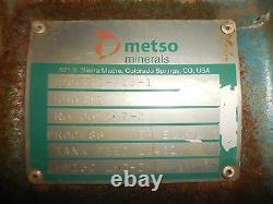 Rx-3634, Metso Hm150 Lhc-d 6 X 4 Pump Slurry Avec 25hp Moteur Et Cadre