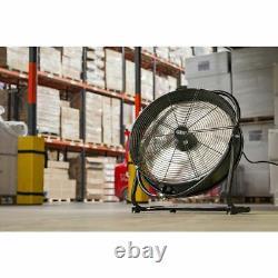 Sealey Hvf20s Ventilateur De Tambour Industriel À Haute Vélocité Orbital 20 230v