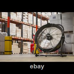 Sealey Industriel Haute Velocité Orbital Ventilateur De Tambour 20 230v Garage Atelier Diy