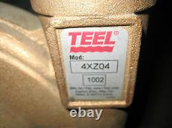 Teel 3 HP Straight Centrifugal Pump 3 Phase 3 HP Partie # 4xz04
