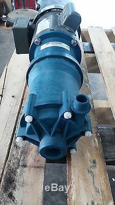 Terminer Thompson Vkc6 Centrifuge Verticale À Entraînement Magnétique Pompe Weg Moteur 1 HP 115 / 230v