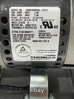 Thomas Compresseur D'air Industriel 2660cwwh50 Xerox Moteur E46046 608571 608571d15