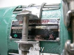 Tri-clover Tri-flo Pump C216md56t-s Avec 1.5hp Baldor Industrial 3 Phase Motor