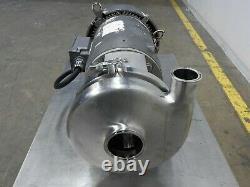 Tri-trèfle C328 Pompe Centrifuge En Acier Inoxydable 10hp