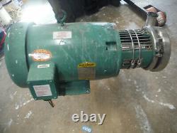 Triclover C216md2tt-s-kx Pompe Tri-flo 7,5 HP Baldor 3 Ph Moteur 3450 RPM