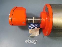 Van Der Graaf Tm160a30-410 1hp 480v 122ft/min Electric Industrial Motor Nouveau
