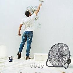 Ventilador De Alta Velocidad Industriel De Piso Pared Ventiladores Para Gimnasio