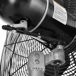 Ventilateur De Montage Mural Oscillant 30 1/2 HP 11500 Cfm Teao Motor 2-speed Industrial