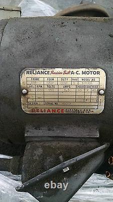 Vickers 1hp Unité Avec Pompe, Moteur Et Réservoir Vickers 1hp