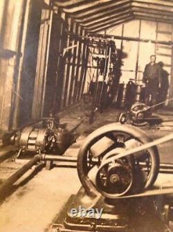 Vieille Image Industrielle Usine Électrique De Moteur Photo Industrielle