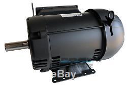Weg 1 Phase De Qualité Industrielle De 215t Compresseur Duty Moteur Électrique 1760 RPM