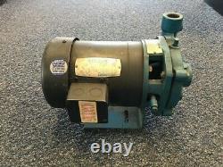 Weinman 4ac-3p12 Utilisé 1 HP Pompe Centrifuge, 7,6 Gpm @ 16' Hd. 125 Psi Max, 3ph